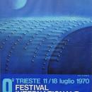 manifesto 8° festival internazionale del film di fantascienza – 67×99 – 11 18 luglio 1970