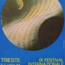 manifesto IX festival internazionale del film di fantascienza – 67×98 – 10 17 luglio 1971